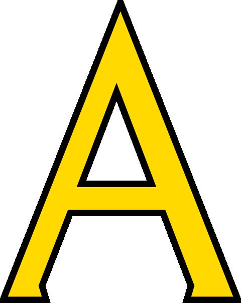 480x604 Letter A Clip Art