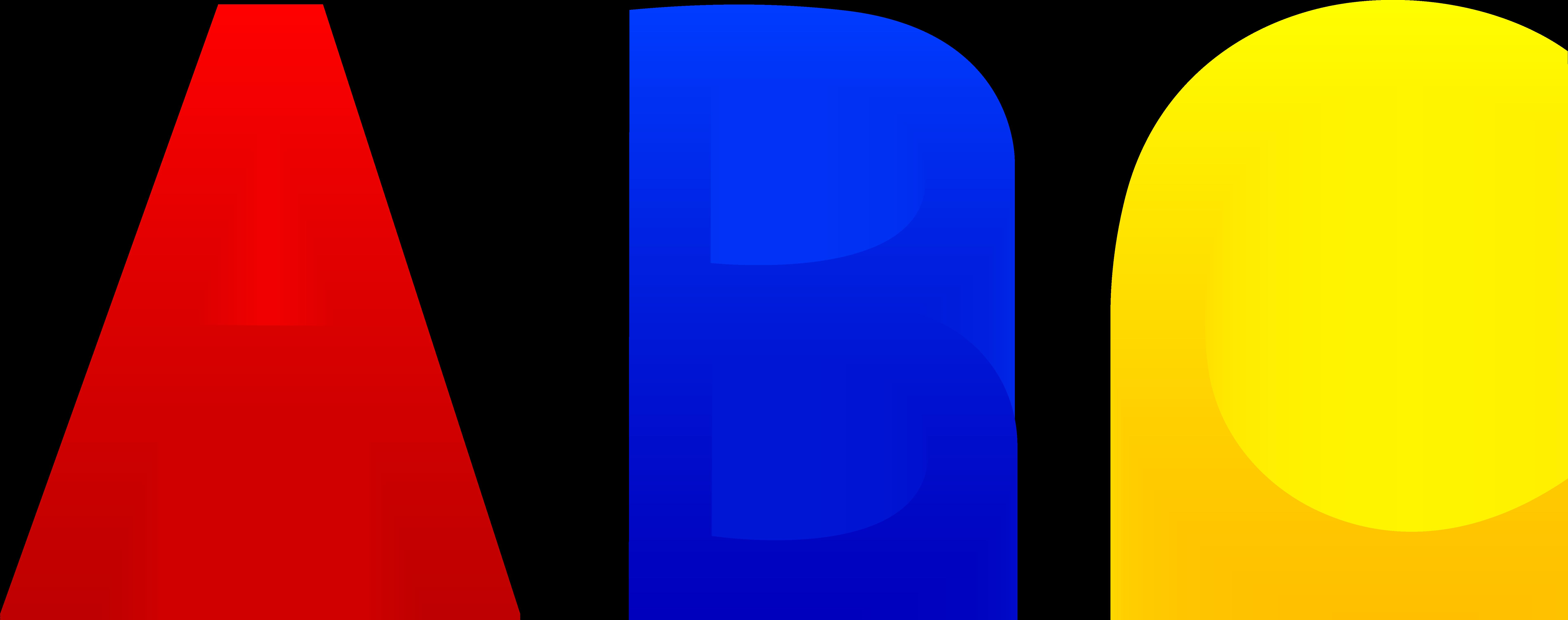 7608x3008 Abc Alphabet Letters