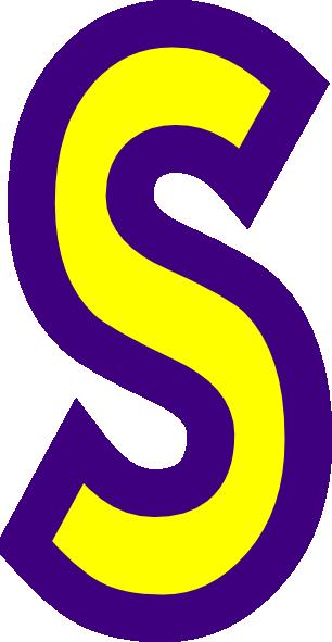 306x591 Letter S Clip Art