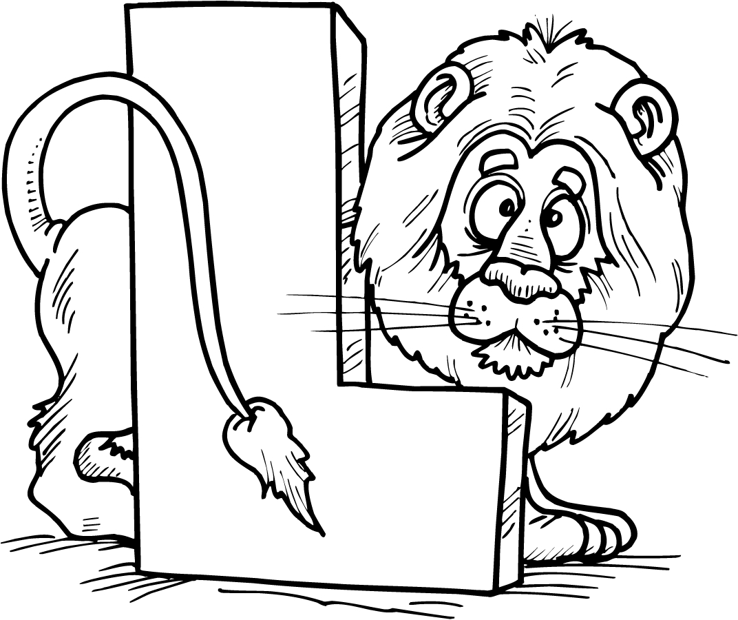 1072x900 Letter A Coloring Pages