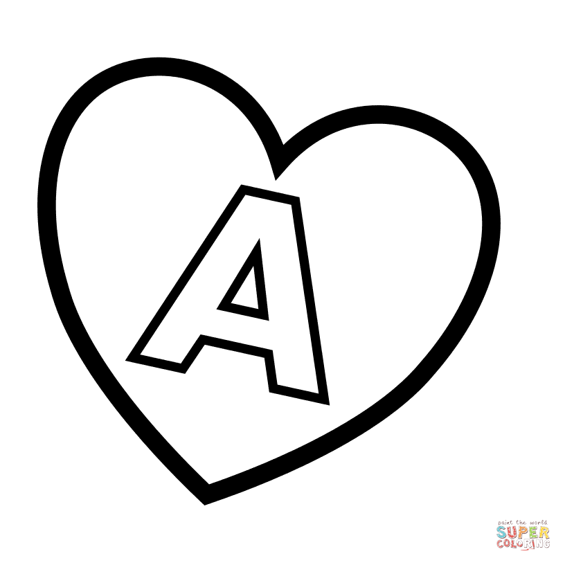 816x816 Letter A Coloring Pages Free Coloring Pages
