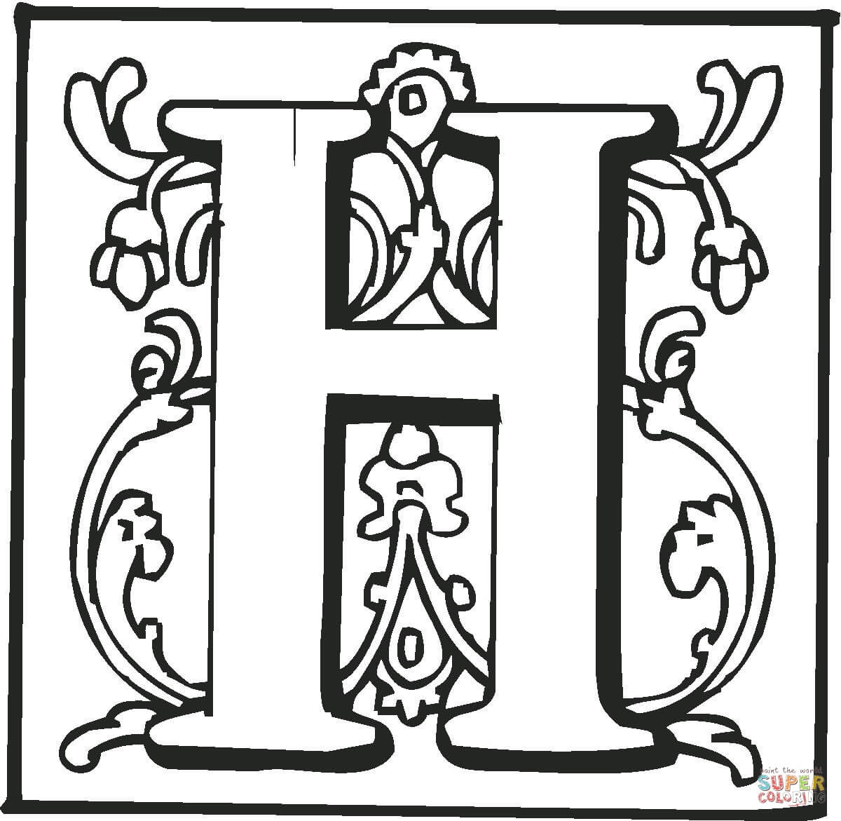 Letter A Coloring Pages | Free download on ClipArtMag