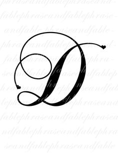 Letter A Tattoo Design