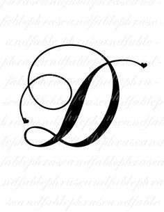 Letter A Tattoo Design