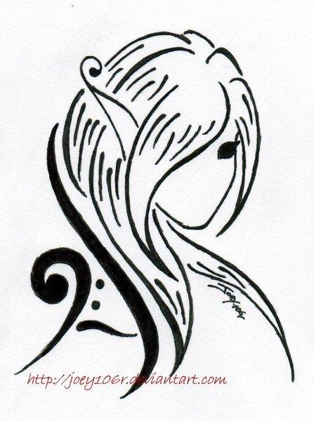 447x600 Letter Tattoo Designs