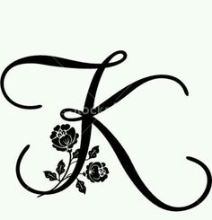 236x245 Letter K Tattoos For Women Letter K Designs Letter K Tattoos