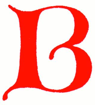 316x352 Letter B Clipart Free Caligraphy