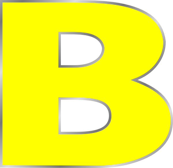600x582 B Letter B Clip Art Bag Clip Art, Art Online