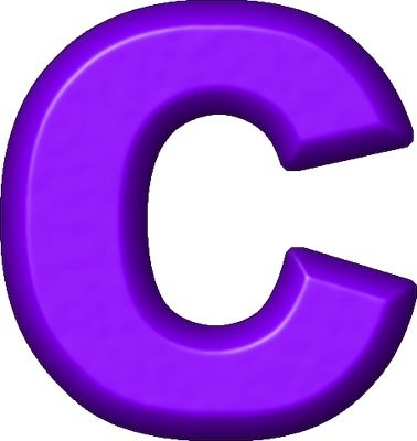 378x400 Letter C Clipart Letters Example
