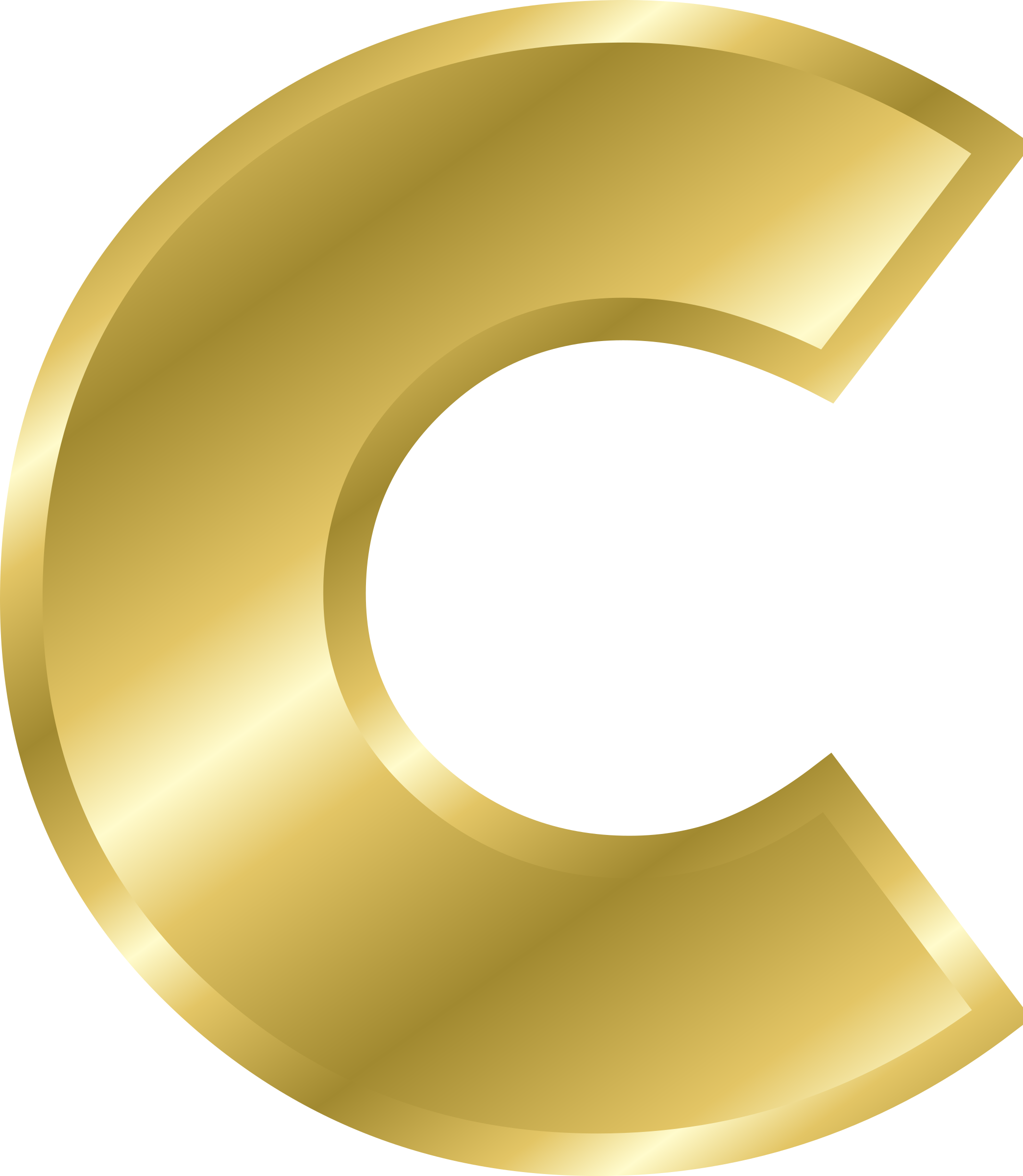 2088x2400 The Letter C Clipart Color
