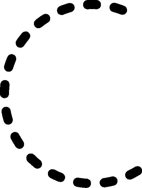 456x601 Alphabet Tracing Letter C Clip Art