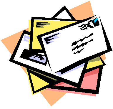 384x370 Letter clipart mail letter