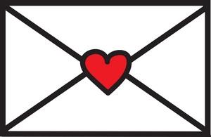 300x195 Love Letter Clip Art Images Clipart Panda