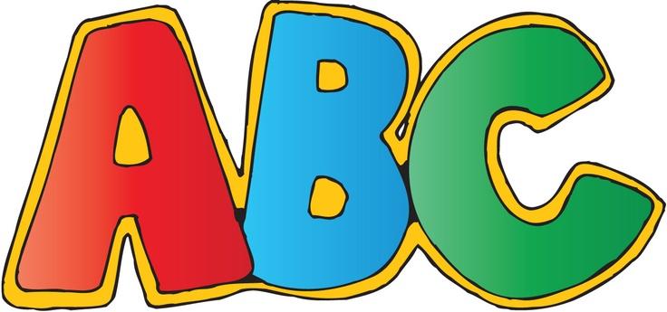 736x345 Clip Art Abc Letters Clipart Panda