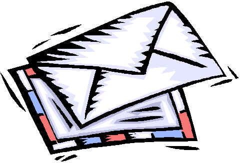 480x327 Letter Clipart
