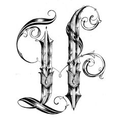 236x236 Celtic Inspired H Monogram Wood Workin' It
