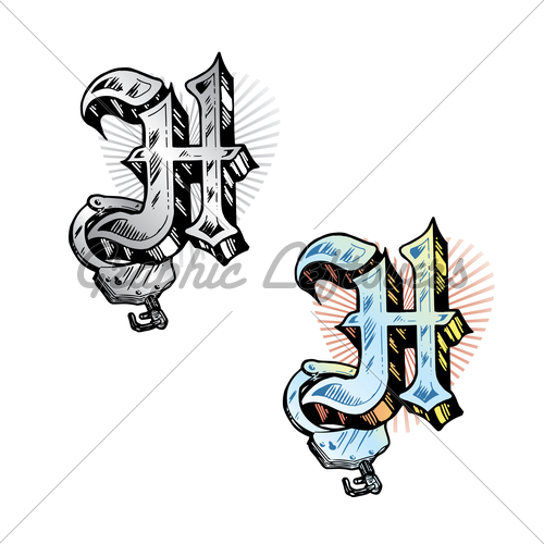 500x500 Letter H Tattoo Ideas Tattoo Designs For Men