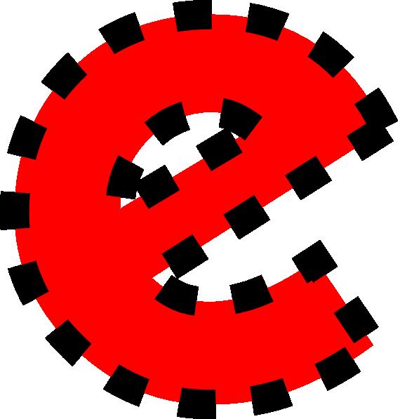 570x597 Lowercase E Clip Art