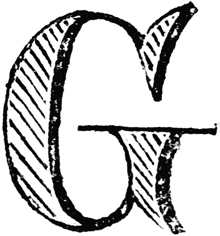 736x789 56 Best Buchstaben ~ Letter G Images Alphabet