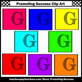 350x350 Letter G, Alphabet Letters Clip Art, Letter Sounds Clipart Sps Tpt