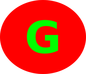 298x258 Letter G Red Circle Clip Art