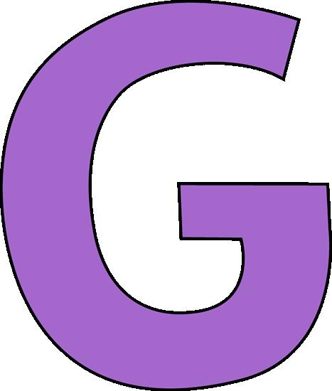 467x550 Purple Letter G Clip Art