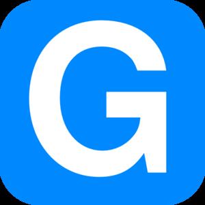 300x300 Blue Alphabet G, G Letter Clip Art