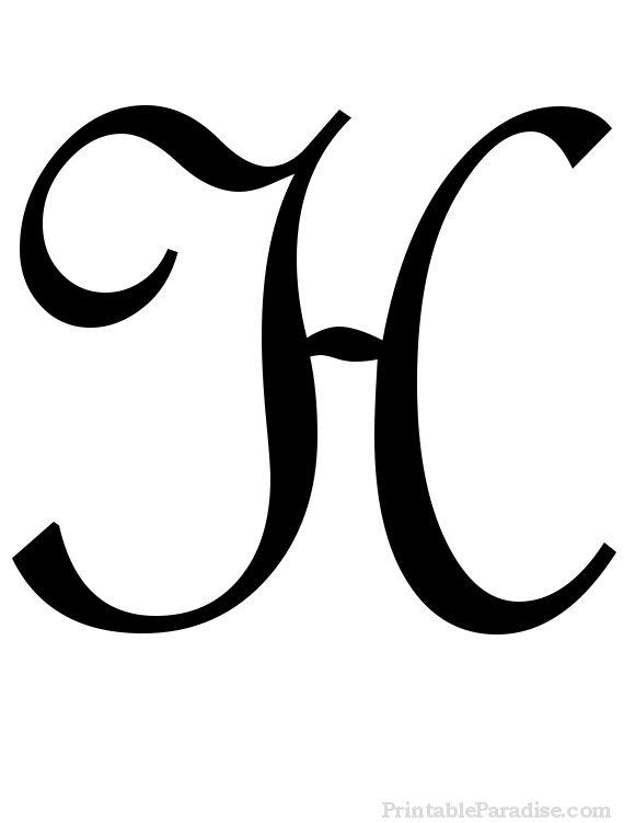 580x751 Cursive H Lowercase Clipart
