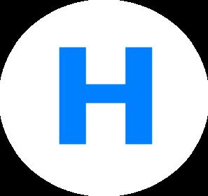 297x279 Letter H Clip Art