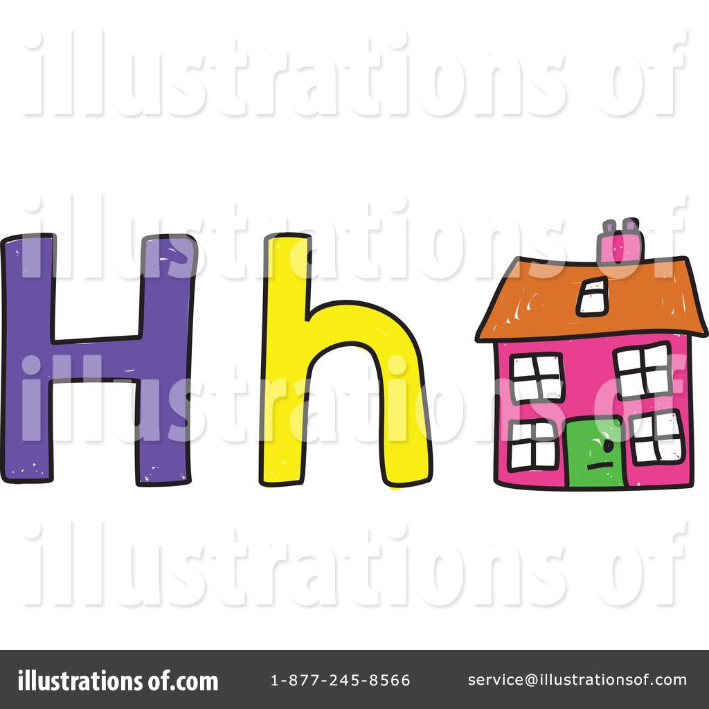 1024x1024 Letter H Clipart