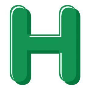 295x295 60 Best Buchstaben ~ Letter H Images Letters