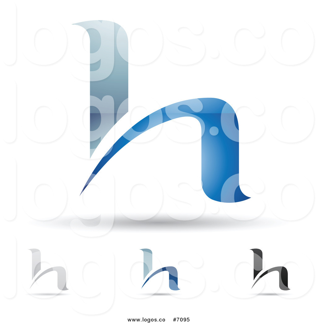 1024x1044 Royalty Free Clip Art Vector Logos Of Abstract Letter H Designs By