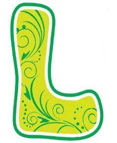 236x290 Letter L Clipart Illustration Of An Elegant Gold Letter L By