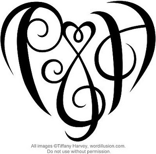320x316 31 Best Letter G Heart Tattoo Images