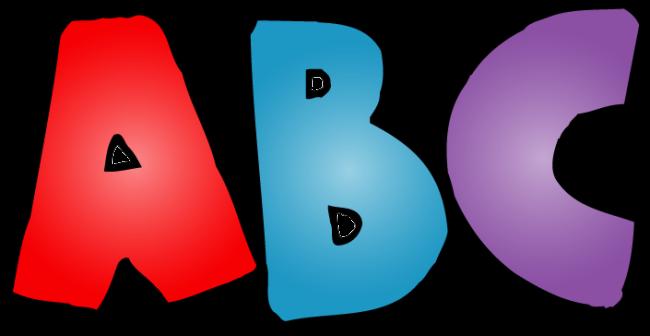 650x336 Cool Design Alphabet Clipart Letters Clipartix