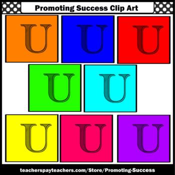 350x350 Letter U, Alphabet Letters Clip Art, Letter Sounds Clipart Sps Tpt
