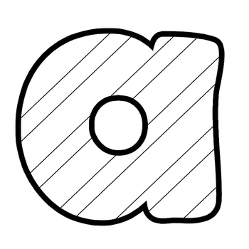 350x350 Letters For Coloring