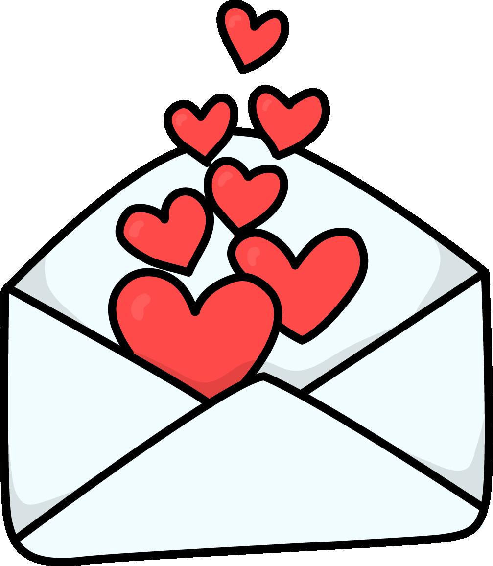 1007x1156 Love Clipart Love Letter