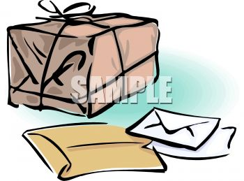 350x259 Package, Letters And Envelopes