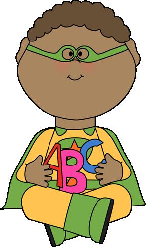295x500 Superhero Clip Art For Teachers Superhero With Alphabet Letters
