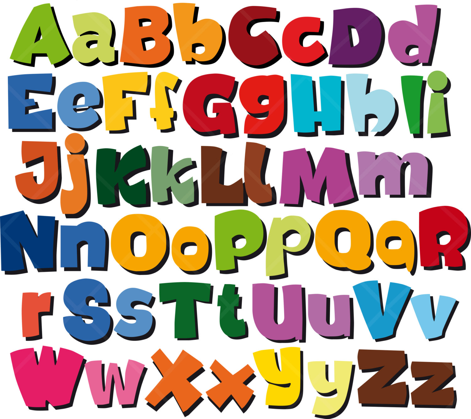 Letters Free Clipart