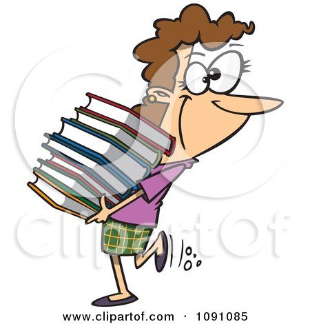 450x470 Free Clipart Librarians Cliparts