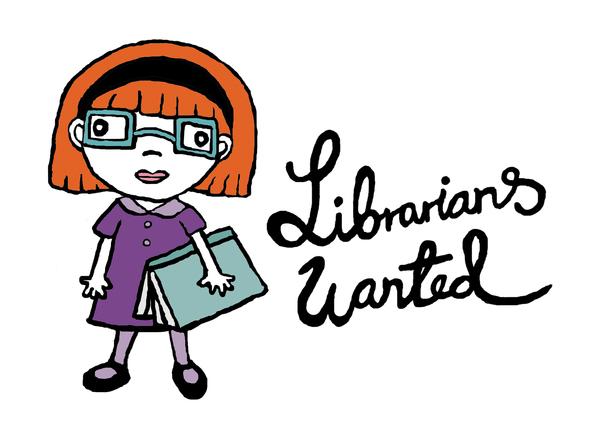 600x441 Librarians Wanted Silja Haddal Mork