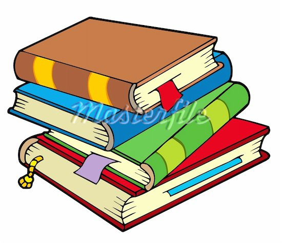 550x475 Library Book Clipart