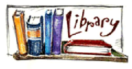 500x263 Library Book Clipart Image