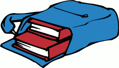 400x229 Clipart Of Library Books