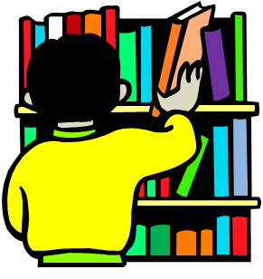 291x308 Library Bookshelf Clipart Free Clipart Images