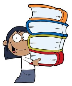 236x279 Tall Stack Of Books Library Clipart Book Images