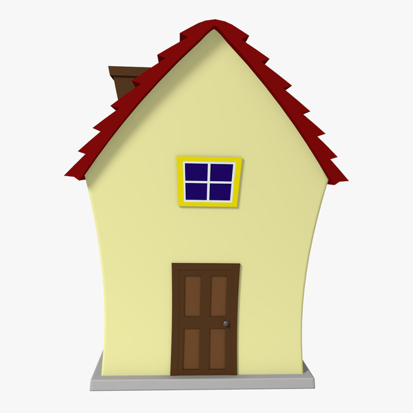 600x600 Cartoon House