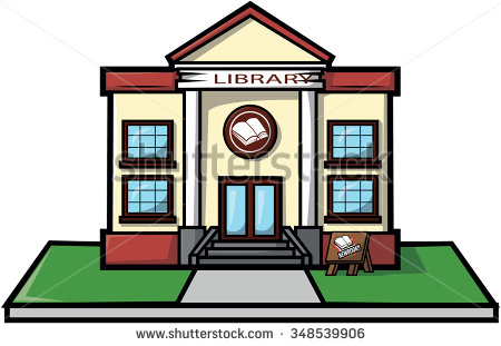 450x311 Library Clipart Cartoon